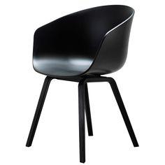 HAY About a Chair 22, Black/Black Legs. SEK 2,250
