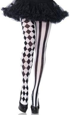 The Joy of Socks - Harlequin Vertical Striped Tights, $7.00 (http://www.joyofsocks.com/harlequin-vertical-striped-tights/)