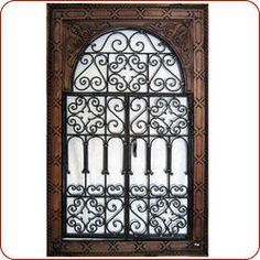Moroccan mirror. Love it. Moroccan Mirror, Moroccan Home Decor, Moroccan Furniture, Moroccan Style, Metal Gates, Wrought Iron Gates, Wood Windows, Iron Decor, Window Design