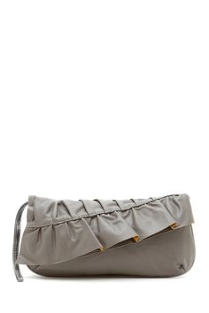 """FINALLY!!! A. Cute. Clutch. :) But oh, how I wish it came in colors other than grey! ... """"Love Affair Clutch"""" by Lulu - $19.00 @ Hautelook.com"""