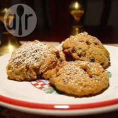 Christmas cookies with a difference! These rich biscuits have fruit mince and walnuts in them. perfect for gifts or a Christmas morning tea. Good for when you need a lot of biscuits! Mince Meat, Mince Pies, Xmas Food, Christmas Cooking, Mincemeat Pie, Stollen Recipe, Baking Recipes, Cookie Recipes, Desserts