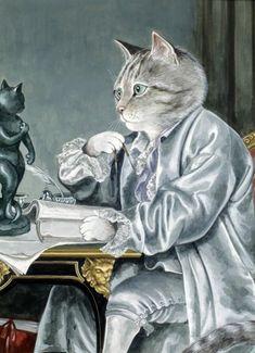 egoistokur ressamlar ve kediler gulenay borekci 8