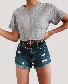Teenager outfits that will make you look great 58 Teenage Outfits, College Outfits, Outfits For Teens, Summer Outfits, Mode Outfits, Girl Outfits, Casual Outfits, Look Fashion, 90s Fashion