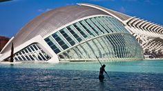 Calatrava Valence - Espagne -   photo Brigitte Bordes -  Brigitte Bordes guardou em mes photos d'architecture, musées, lieux de culture