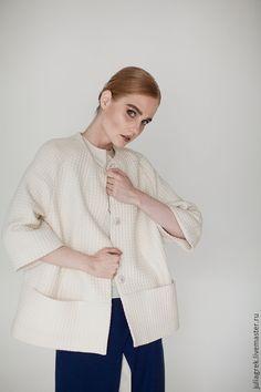 Купить Удлиненный жакет - жакет, жакет женский, дизайнерская одежда, дизайнерский жакет, повседневная одежда