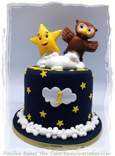 Twinkle Star & Owl cake!