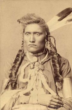 Northwestern Great Plains Native American warrior.