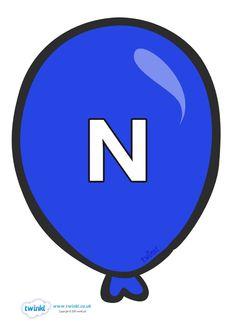 Letter N, Celebrity Weddings, Kids And Parenting, Spelling, Balloons, Angel, Indoor, Alphabet, Kids Ministry