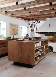 Kochinsel kochinsel Moderne Küchen maße holz | Wohnideen ... | {Küchenzeile design holz 44}