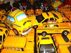 """""""The yellow ones don't stop"""" (New York City)"""