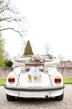 Trouwauto: De witte kever! | ThePerfectWedding.nl
