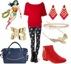 Fashionable Fangirl: Casual Wonder Woman