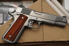 Les Baer 1911 Stainless Extreme Tactical.