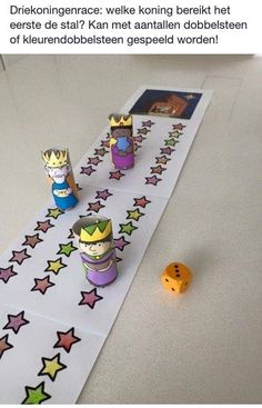 idea for game pawns: a design around a cork Christmas Crafts For Toddlers, Preschool Christmas, Toddler Christmas, Toddler Crafts, Preschool Activities, Catholic Religious Education, Catholic Crafts, Idees Cate, Epiphany Crafts