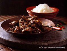 Rendang Padang ~ beef-curry  Indonesian Food