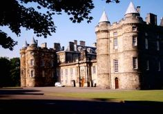 Holyrood Palace. Official residence of the Queen in Scotland.