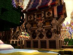 Ferrin - Fantasy City Minecraft Project