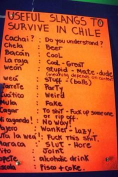 chileans are weird