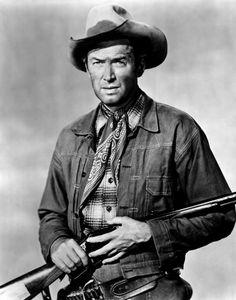 "James Stewart en ""Winchester 73"", 1950"