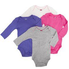 Carter's® Infant Girl 4-Pack Bodysuit