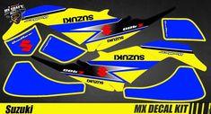 Kit Déco Quad / Atv Decal Kit Suzuki LTZ 400 - Yellow Quad, Iron Man Birthday, Atv, Decals, Yellow, Tags, Mtb Bike, Sticker, Decal