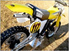 1981 YZ250H...