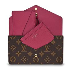 Jeanne Wallet Monogram Canvas in Women s Small Leather Goods Wallets  collections by Louis Vuitton f7f8ba675f