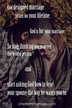 Speak truth and life into your marriage . . .
