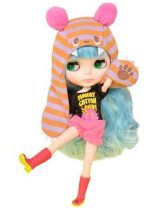 Neo Blythe - Mandy Cotton Candy [Blythe Shop Exclusive] (Japan Import). ・Target gender: girl. ・From 7-year-old: Age. ・(C) 2014 Hasblo.