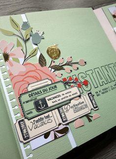 Mini Albums Scrapbook, All Paper, Paper Design, Stationery, Artsy, Album Photos, Paper Crafts, Travel Journals, Illustration