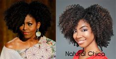 If First Lady had an afro! :)