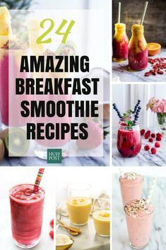 24 Breakfast Smoothie Recipes
