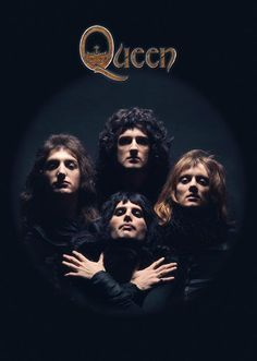 Music posters - Queen posters - Rare Queen poster features the classic Queen Bohemian Rhapsody image of the four members of Queen. Queen Album Covers, Iconic Album Covers, Sea Wallpaper, Queens Wallpaper, Queen Freddie Mercury, Heavy Metal, Impression Poster, Rock N Roll, Queen Poster