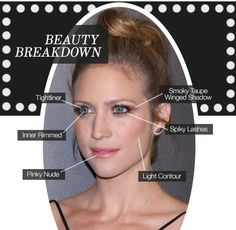 How to make your eyes BIGGER while still making them PIERCING, like we did on this mega babe Brittany Snow for her premiere Tuesday night! Click through to learn how!