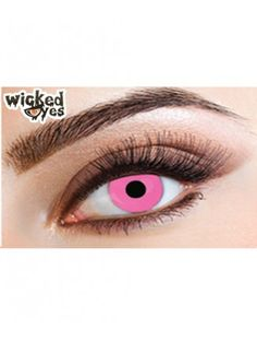 Wicked Eye Posy Pink Cat Eye Contacts, Halloween Contacts, Black Contact Lenses, Blue Flames, Colored Contacts, Black Magic, Electric Blue, Predator, Eye Color