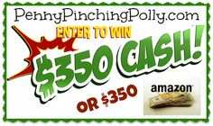 PollyPalooza Giveaway – $350 and 30+ #PRIZES | Penny Pinching Polly