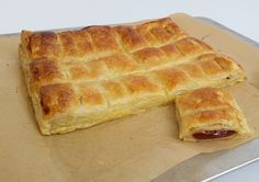 Guava cheese Cuban pastries. Three ingredients: puff pastry, guava paste and cream cheese or marscapone cheese. Yum-O!