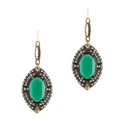 retro-chic designs with a twist!!! -- Lets Bring Back by Lulu Frost absinthe earrings