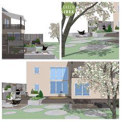Outdoor kitchen plan, Designed by Green Idea