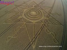 "Crop Circle ""The Eye Of The One""...   Nettle Hill, nr Ansty, Warwickshire, United Kingdom.  Reported 16th August 2014  Image The Crop Circle Connector"