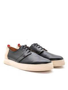 Beat Shoe Leather Black OSF47   Shoes.