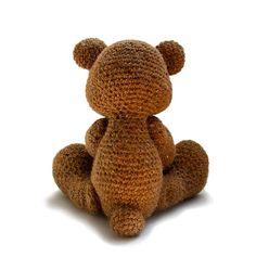 Theo the Teddy amigurumi pattern by Patchwork Moose (Kate E Hancock) Los  Evropský 48382d226c0