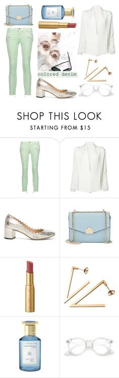 """""""Feel better"""" by blueyed ❤ liked on Polyvore featuring Just Cavalli, Peter Cohen, Chloé, Jennifer Lopez, Too Faced Cosmetics, Stephanie Bates and Shay & Blue"""