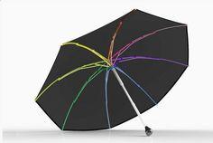 Leggero, resistente e riciclabile Ginkgo, l'ombrello di plastica - Corriere.it