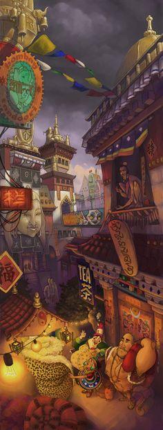 Bombay Tandoori by junglejulia314.deviantart.com on @deviantART