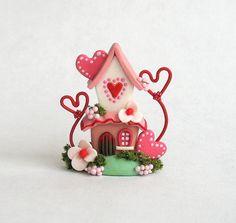 Miniature  Charming Valentine Hearts Fairy  by ArtisticSpirit