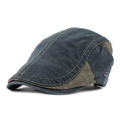 FLB  Cotton Gorras Planas Male Beret Vintage Boinas Flat Cap for Men and  Women casquette Sun Flat Cabbie Newsboy Hat Visors 61a560b7bec9