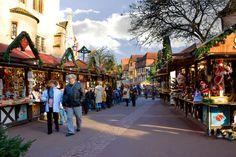 Marchée de Noel, Place de l'ancienne douane, Colmar