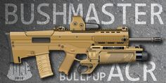 What we got here is the bullpup adaptation of the bushmaster acr assault riffle. It took me freaking amount of my spare time to paint it, but here it is. Airsoft, Military Guns, Assault Rifle, Recherche Google, Firearms, Hand Guns, Weapons, Deviantart, Digital