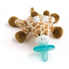 WubbaNub Giraffe: Binky + Stuffie = Love